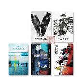 BIGBANG  愛豆卡 照片硬卡 明星卡片組(共5張) E642-B【玩之內】GD 勝利 太陽 TOP 大聲