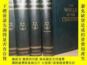 二手書博民逛書店THE罕見WORLD OF THE CHILDREN 4本全 仿
