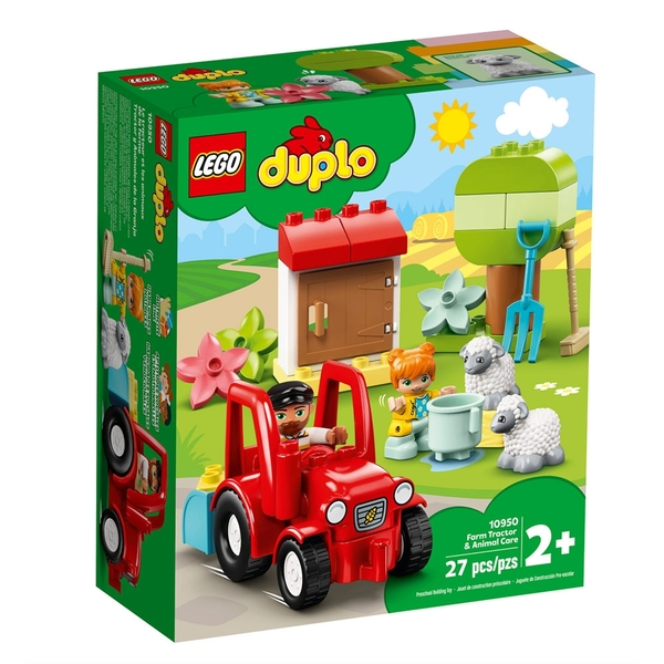 LEGO 樂高 得寶幼兒系列 拖拉機 & 動物照護中心_LG10950