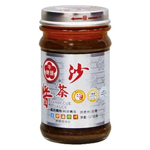 牛頭牌玻璃沙茶醬127g/罐【愛買】