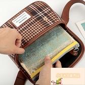 透明 口罩收納袋 隨身便攜裝拉邊袋防水隔離袋【小玉米】