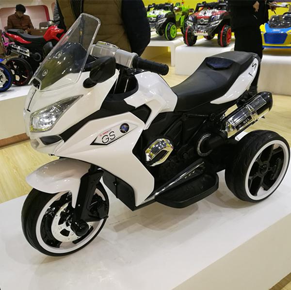 *幼之圓*2017最新款~寶馬款R1200GS高仿真電動摩托車~超酷炫的超跑重機~電動兒童摩托車