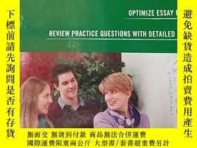 二手書博民逛書店GRE罕見Reading Comprehension&Essay