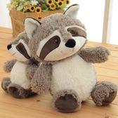 浣熊毛絨玩具公仔玩偶布娃娃小浣熊可愛送兒童朋友女生生日禮物 居享優品