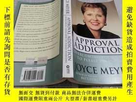 二手書博民逛書店自在做自己罕見APPROVAL ADDICTION:overco