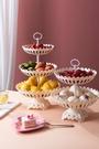 水果籃 水果盤創意現代客廳茶幾家用網紅北歐風格多層干果盆零食盤水果籃【快速出貨八折鉅惠】