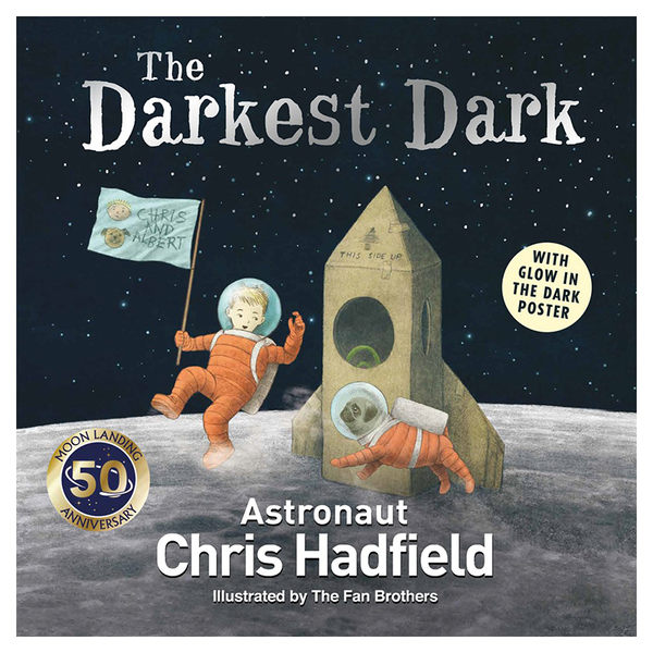 The Darkest Dark宇宙外太空天文科學STEM英文繪本圖畫童書