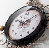 美式復古鐘錶掛鐘時鐘客廳創意潮流臥室現代簡約新款大氣客廳家用igo 依凡卡時尚