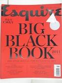【書寶二手書T3/雜誌期刊_EA1】時尚先生黑皮書_Big Black Book 2011