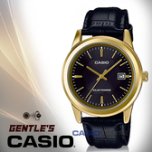 CASIO手錶專賣店 卡西歐 MTP-VS01GL-1A2 指針男錶 皮革錶帶 黑x金 太陽能 防水
