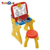 玩具反斗城 【Crayola 繪兒樂】 白板桌椅組