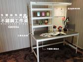 【空間特工】收納架 電腦桌 佈告欄 書桌 工作桌 三層免螺絲角鋼 白鐵貼皮 預購 (可訂製)