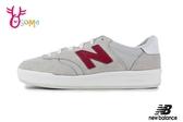 New Balance 成人女款 休閒鞋 經典300鞋身 低調復古 運動鞋 O8455#白紅◆OSOME奧森鞋業
