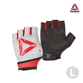 Reebok - 防滑短指訓練手套(紅)(L)