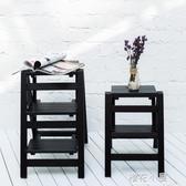家用摺疊樓梯椅全實木梯子椅子多 兩用步階梯凳梯子凳子木梯QM 『櫻花小屋』