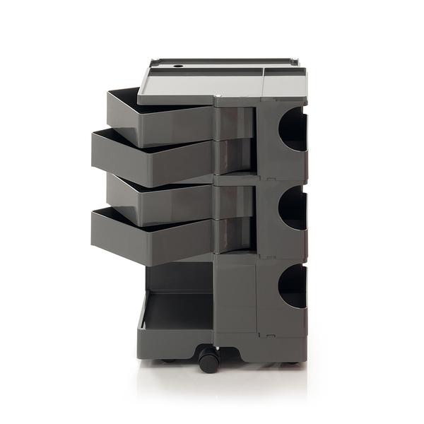 B-Line Boby Storage Trolly System Mod.M H73.5cm 巴比 多層式系統 收納推車 - 高尺寸 (四抽屜收納) 深灰色款