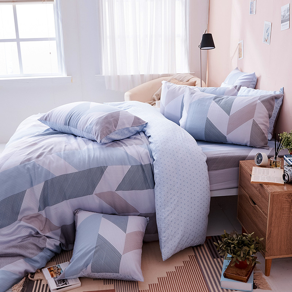 床包兩用被組 / 雙人加大【絲柏特】含兩件枕套  100%天絲  戀家小舖台灣製AAU315