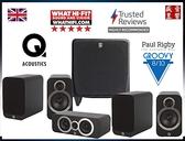 『盛昱音響』英國 Q Acoustics 3020i + 3090Ci + 3020i + SUNFIRE SDS-10 家庭劇院喇叭組 - 現貨可視聽