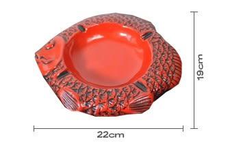 [協貿國際]樹脂創意魚形煙灰缸單個價