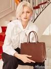 包包女2020新款潮秋冬大號托特包側背手提公文包通勤大容量 黛尼時尚精品
