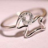 925純銀戒指鑲鑽-生日情人節禮物小羊造型可愛唯美流行女飾品73ae49[巴黎精品]