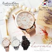 正韓LAVENDA寵愛時光羅馬字米蘭鍊帶錶 手錶【WLA2826】璀璨之星☆