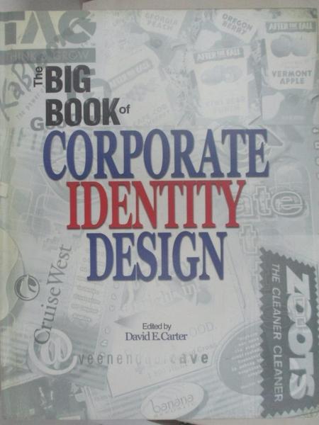 【書寶二手書T1/設計_J67】The big book of corporate identity design / editor…
