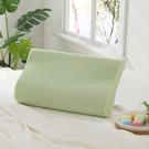 枕頭 / 記憶枕【Microban抗菌素面記憶枕-萊姆綠】美國抗菌品牌 LAMINA樂米娜台灣製