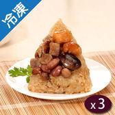 饗城干貝東坡肉粽5粒/包X3【愛買冷凍】