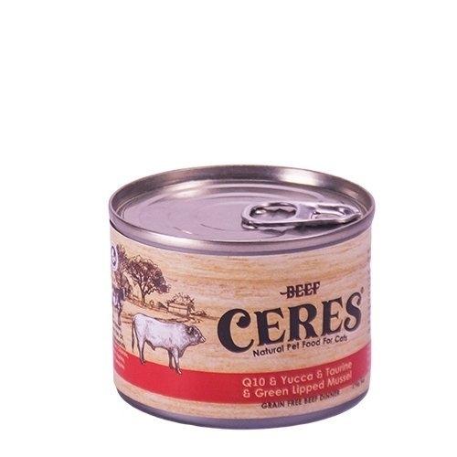 *King Wang*【單罐】紐西蘭CERES克瑞斯》天然無穀貓用寵物主食餐罐 175g