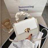 鍊條包 女士包包流行新款潮時尚鏈條斜挎手提小方包【快速出貨八折搶購】