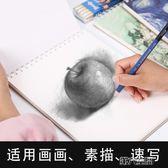 素描本 a4素描本學生用空白速寫本兒童手繪本繪畫紙成人畫畫美術本 第六空間