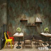 美式復古懷舊工業風墻紙服裝店餐廳飯店酒吧素色純色水泥灰色壁紙 zh971【宅男時代城】