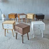 (中秋大放價)簡易床頭櫃簡約現代實木臥室經濟型北歐床頭收納櫃迷你歐式儲物櫃xw