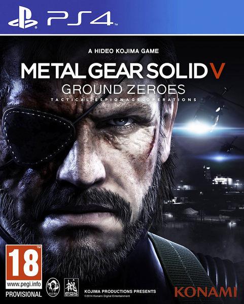 PS4 潛龍諜影5:原爆點 (含獨佔Deja Vu任務) 英日文版 MGS 5 Ground Zeroes
