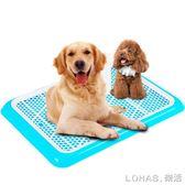 寵物廁所 平板狗廁所大號中大型犬泰迪狗尿盆金毛狗便盆比熊寵物用品送立柱 igo