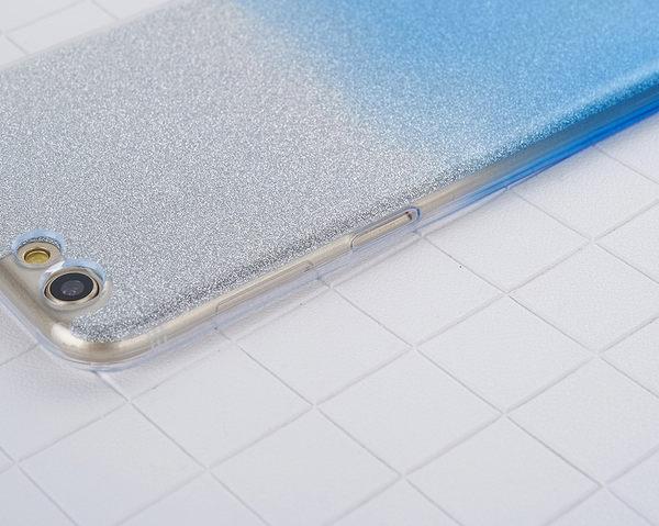 閃粉漸層 OPPO R9s 手機殼 OPPO R9s Plus 保護套 漸變 軟殼 透明殼 矽膠套 防摔 全包丨麥麥3C