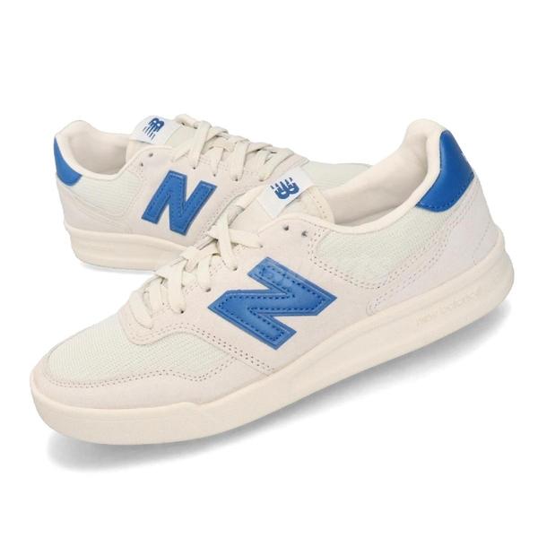 New Balance 休閒鞋 NB 300 米白 藍 女鞋 運動鞋 【ACS】 CRT300YCD