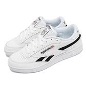 【海外限定】Reebok 休閒鞋 Club C Revenge MU 白 黑 復古網球鞋 男鞋 小白鞋【ACS】 EG9270