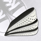 鞋墊 增高墊 內增高 氣墊 透氣 記憶 回彈 腳後跟 可水洗 半墊 增高鞋墊(1雙)【P292】生活家精品