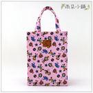 文件袋 包包 防水包 雨朵小舖M088-383 A4有拉鍊提袋-粉馬戲團猴子03185 funbaobao