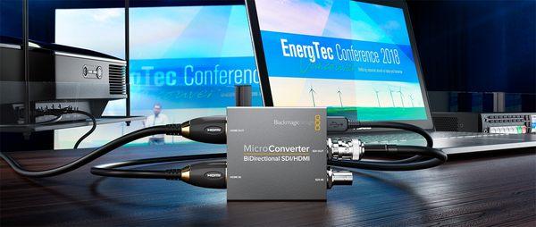 雙向轉換器 Blackmagic Micro Converter BiDirect  SDI/HDMI 無Ac