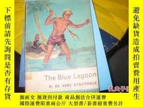 二手書博民逛書店THE罕見BLUE LAGOON館藏有標註9837 H,DE V