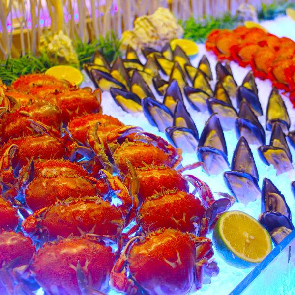 台中裕元酒店B1溫莎咖啡廳自助式吃到飽午餐或晚餐券(假日使用+100)