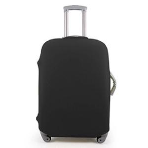 【PUSH!旅遊用品】高雅黑行李箱彈力保護套(24吋M號)S08-1