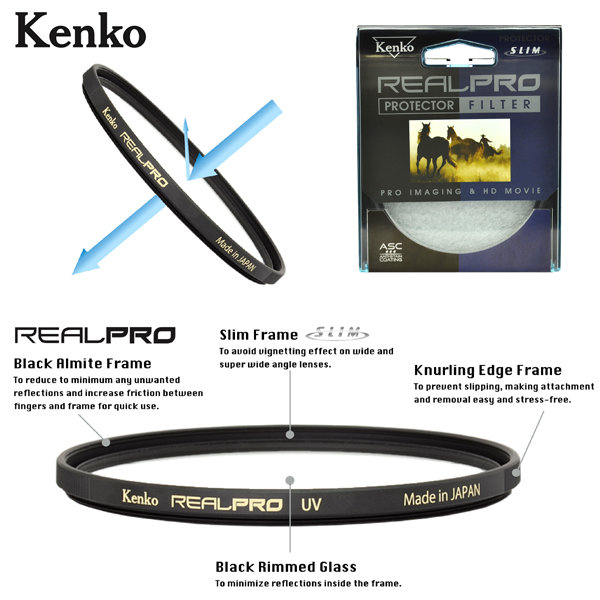 EGE 一番購】KENKO【Real PRO CPL】(55mm)新版三防多層鍍膜偏光鏡【公司貨】