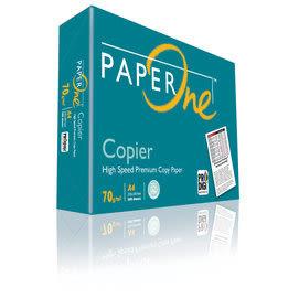 【永昌文具】 PAPER ONE A4 影印紙 70磅 10包 /組