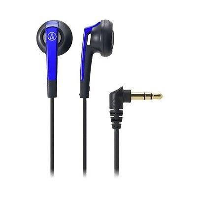 【台中平價鋪】全新 鐵三角  ATH-C505 藍色 耳塞式耳機  台灣鐵三角公司貨