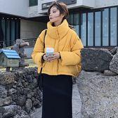 梨卡 - 搶眼韓版短款寬鬆版加厚鋪棉仿羽絨外套大衣風衣背心兩穿/三色AR089