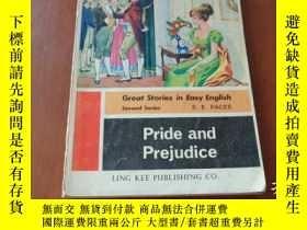 二手書博民逛書店PRIDE罕見AND PREJUDICE 傲慢與偏見Y20470 S.E.PACES LING KEE 出版